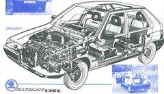 Vynikající vlastnosti, komfort a tichá jízda. Jak se psalo o Favoritu 136 L před třiceti lety