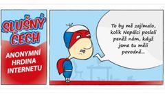 Humorem proti nenávisti. Člověk v tísni vydává komiks inspirovaný hláškami trollů