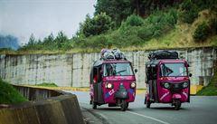 NOMÁDI: 'Nejhorší nápad na světě!' 5 holek v tuktuku na cestě skrz Jižní Ameriku