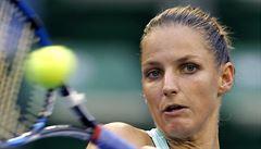 Karolína Plíšková na japonský přízrak nestačila. V Indian Wells končí ve čtvrtfinále