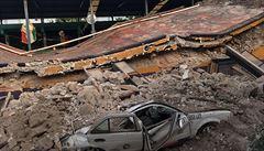 Zemětřesení v Mexiku má již 343 obětí, škody zřejmě přesáhnou 44 miliard korun