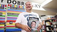 Jiří Kajínek na autogramiádě: Pracuji na tom, abych už nebyl vrahem