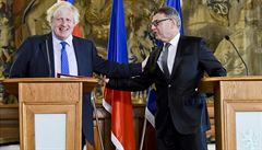 Johnson v Praze jednal se Zaorálkem. Zaručil práva občanů EU po brexitu