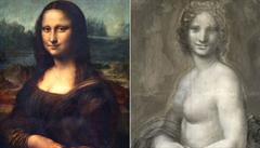 Da Vinciho Mona Lisa možná měla svou nahou předchůdkyni