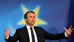 Třešničky z dortu jim nenecháme, řekl Macron o Británii