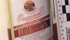 OBRAZEM: Policie vydala seznam podezřelého alkoholu