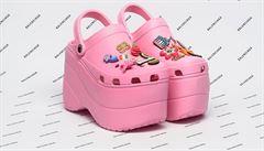 Nejošklivější boty na příští rok? Módní dům Balenciaga se spojil se značkou Crocs