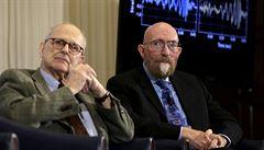 Nobelovu cenu za fyziku získala trojice Američanů za detekci gravitačních vln