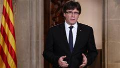 Puigdemont vyzval k jednotě v úsilí za svobodné Katalánsko