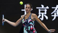 Karolína Plíšková otočila v Dubaji souboj se Suárezovou a je ve čtvrtfinále