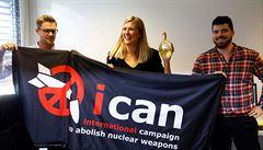 Nobelovu cenu za mír dostala Mezinárodní kampaň za zrušení jaderných zbraní