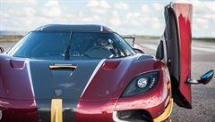 444,6 km/h. Koenigsegg je nejrychlejším sériově vyráběným autem světa