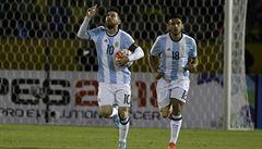 Jak je důležité míti Messiho. Argentina odvrátila blamáž, jiní giganti nikoliv