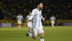 Na mistrovství světa díky hattricku. Messi zajistil fotbalistům Argentiny postup