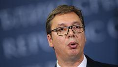 Srbsko dle prezidenta neuzná Kosovo výměnou za členství v EU. Kreml stojí za Bělehradem, uvedl Lavrov