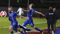 Islanďané jsou rekordmany. Nejmenší země v historii MS ve fotbale slaví postup