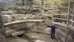 Archeologové našli u Zdi nářků římský amfiteátr s kapacitou 200 diváků