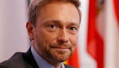 Šéf německé FDP zahájil svůj projev v čínštině. Kongres strany sponzorovala Huawei
