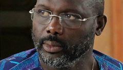 Nejdříve Zlatý míč, teď prezidentem? Fotbalista Weah je blízko vládě v Libérii