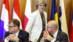 Mayová lídry EU nepřesvědčila. Dali zelenou přípravě druhé fáze jednání o brexitu
