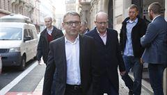 Zaorálek po jednání se zástupci SPD zopakoval, že se ČSSD chystá do opozice