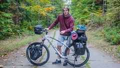 'Letos si už pepřák vezmu.' Pětadvacetiletý Čech vyráží podruhé na kole po Africe