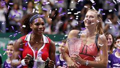 Williamsová smetla Šarapovovou a vyhrála Turnaj mistryň
