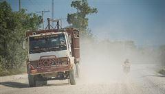 HEJTY Z HAITI: Na silnici vyhrává ten silnější