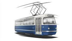 Prahu bude křižovat designová 'party' tramvaj. Vyrobí ji z legendární T3