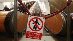 Vstup do metra z Karlova náměstí se kvůli opravě až do srpna uzavře