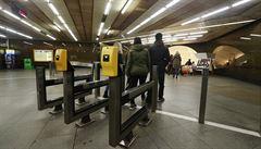 Přestupová stanice metra Muzeum opět omezuje provoz. Opravy skončí v květnu