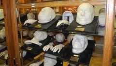Zvláštní a děsivé umění lidských posmrtných masek