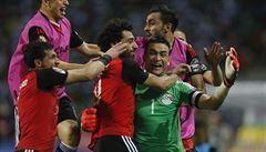 Egypt je ve finále afrického šampionátu. Burkinu Faso porazil na penalty