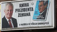 Pokuta 40 tisíc za propagaci Zemanovy knihy během kampaně. Nesmysl, brání se vydavatelství