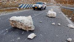 Írán zasáhlo další zemětřesení, nejméně 25 lidí utrpělo zranění