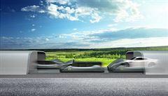 Chystá se 'hyperloop' bez potrubí. Rychlostí 320 km/h bude vozit i automobily