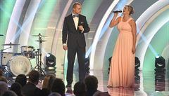 Špotáková vyhrála podeváté Atleta roku a spolu s Vadlejchem se proměnili ve zpěváky
