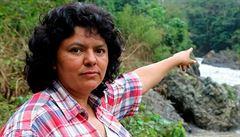 Za smrtí honduraské ekoložky stojí nejspíš stavebníci. Chtěli vybudovat přehradu