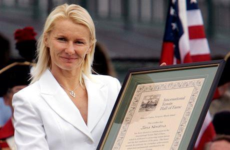 Jana Novotná v roce 2005.