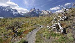 V obrovské Patagonii se narůstající počet turistů ztratí, říká cestovatel