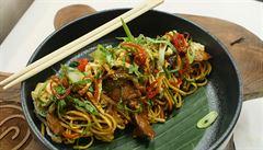 VIDEORECEPT: Připravte si indonéský bakmi goreng