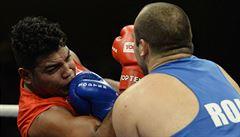 Kubánský boxerský koncert v Lucerně. Evropané neměli šanci