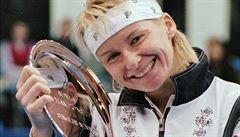 Neplačte pane Kodeši, já ten Wimbledon stejně vyhraji, řekla Novotná legendě