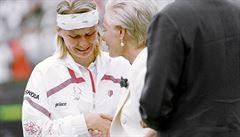 VIDEO: Wimbledonský příběh Jany Novotné. Slzy zklamání i štěstí