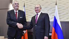 Zeman zahájí česko-ruské podnikatelské fórum a sejde se s Medveděvem