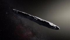 Oumuamua jako mimozemská sonda? Pravdu se už nikdy nedozvíme, tvrdí čeští astronomové