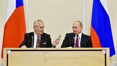 Farský a Ženíšek vyzvali Zemana k ukončení návštěvy Ruska. Naštval je článek o invazi z roku 1968