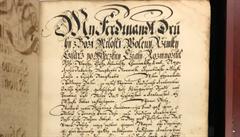 Putin daroval Česku vzácný tisk ze 17. století. Jedná se o jedinou kompletní verzi