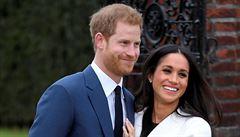 Královská svatba má termín. Princ Harry a herečka Markleová se budou brát 19. května