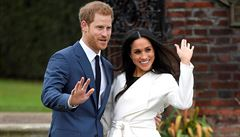 Na svatbě prince Harryho to bude vonět po růžích a pivoňkách. Svatební pár zveřejnil výběr květin